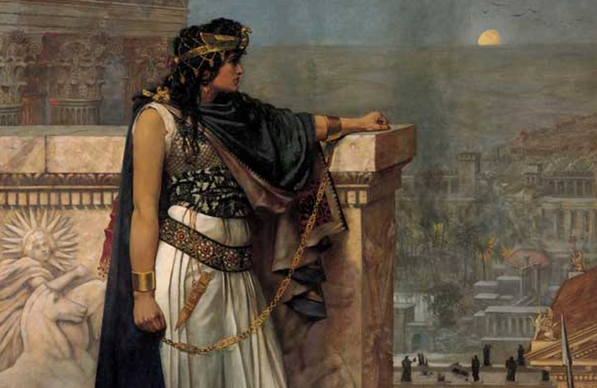 Artemisia ruled her city on behalf of her son.