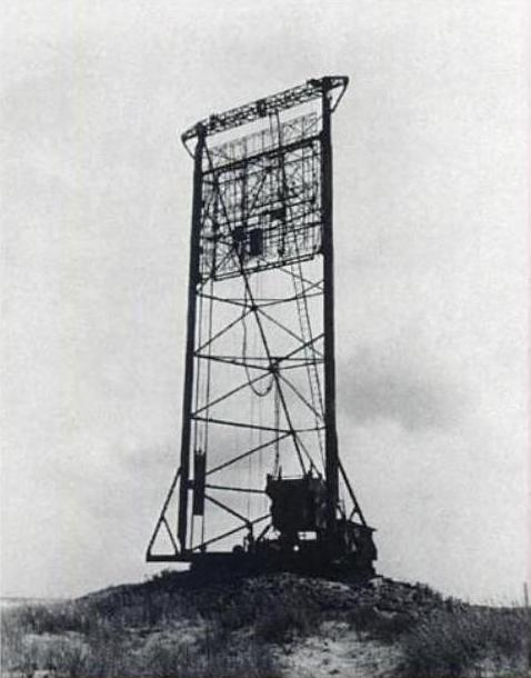 Sneum provided the British with their first footage of the German Freya radars.